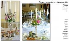 Esküvői teremdekoráció